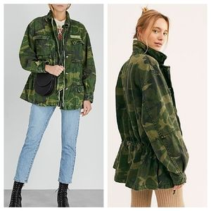ASOS | Free People Seize The Day Camo Jacket